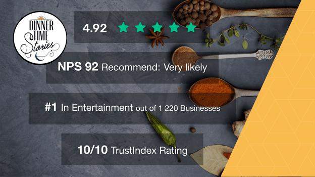 DinnerTimeStoriesSA Review