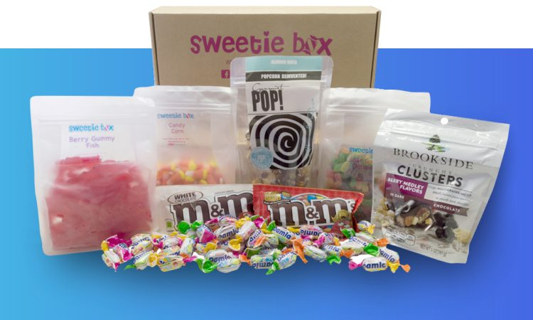 SweetieBox Products and Packaging